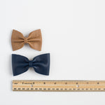 Leather Bow Tie (multiple colors available)