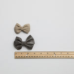 Sawyer Leather Bows (multiple leather options)