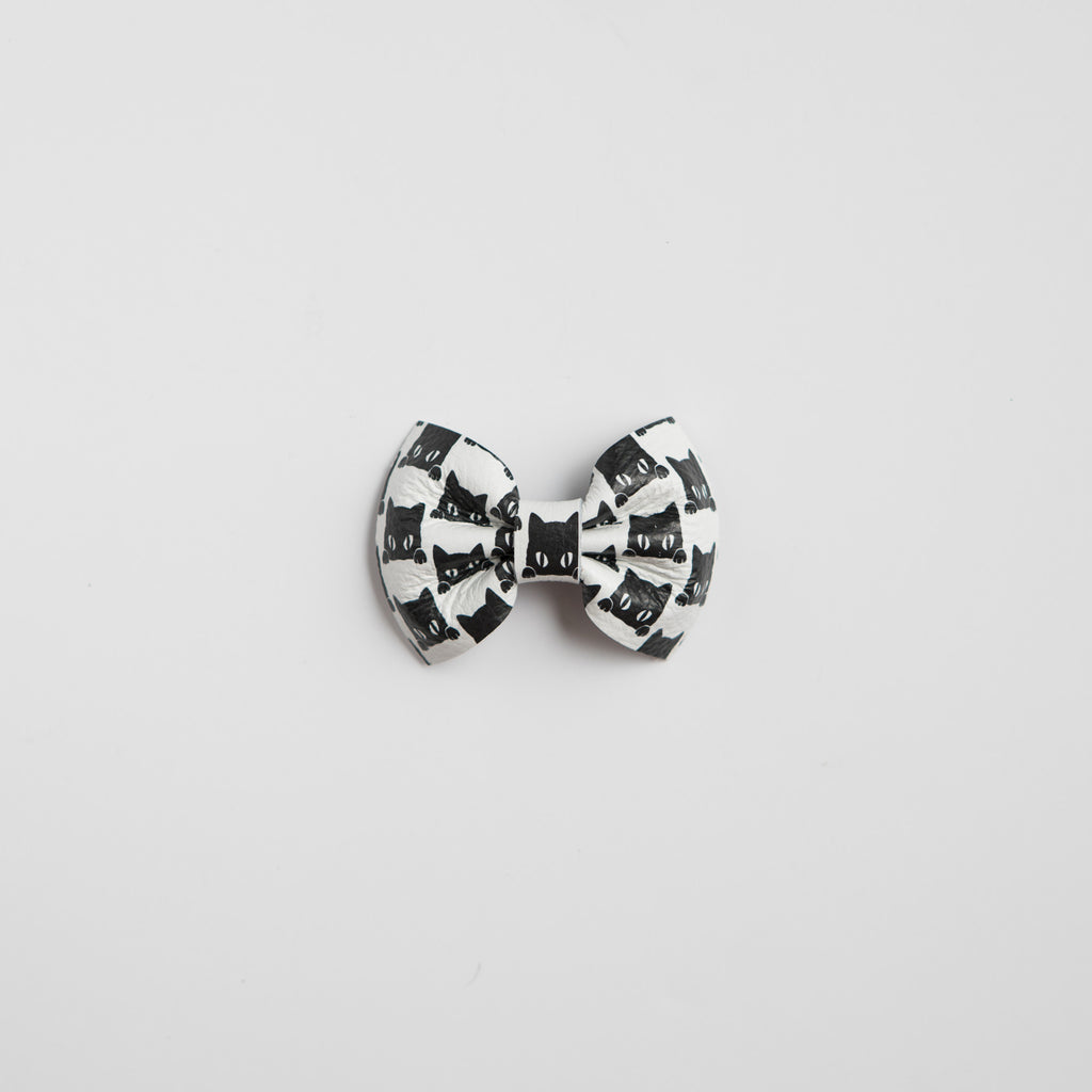 Binx Leather Bow