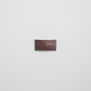 Sugarplum Leather Snap Clip