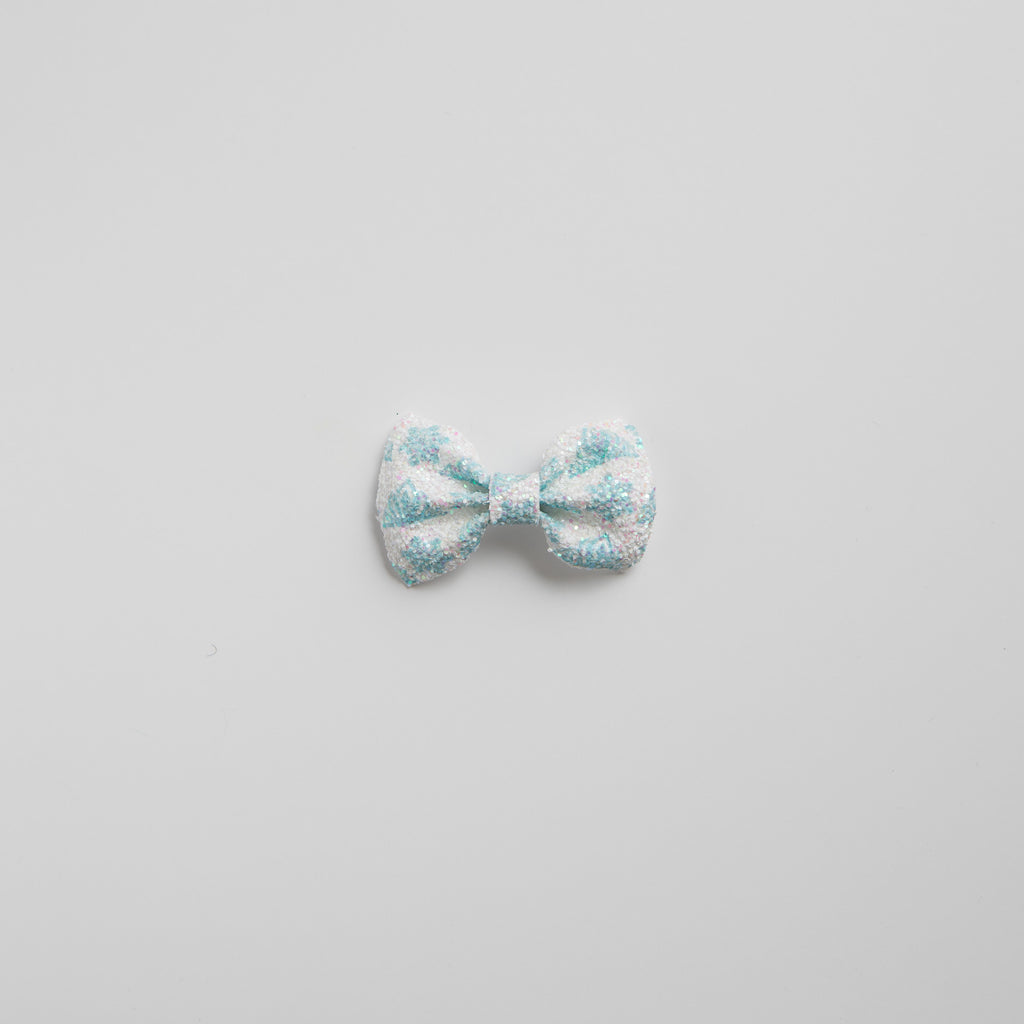 Ice Queen Glitter Bow