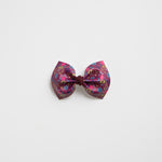 Fearless Heart Faux Leather Bow