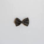 Dark Elephant Leather Bow