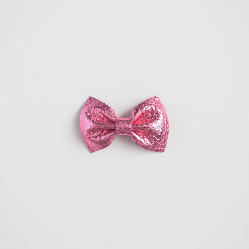 Barbie Girl Leather Bow