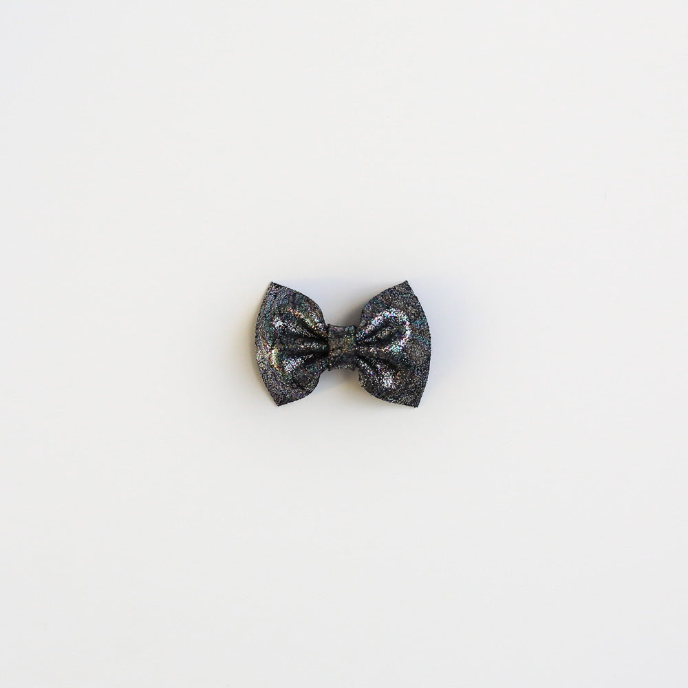 Stardust Leather Bow
