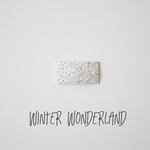 Winter Wonderland Glitter Snap Clip