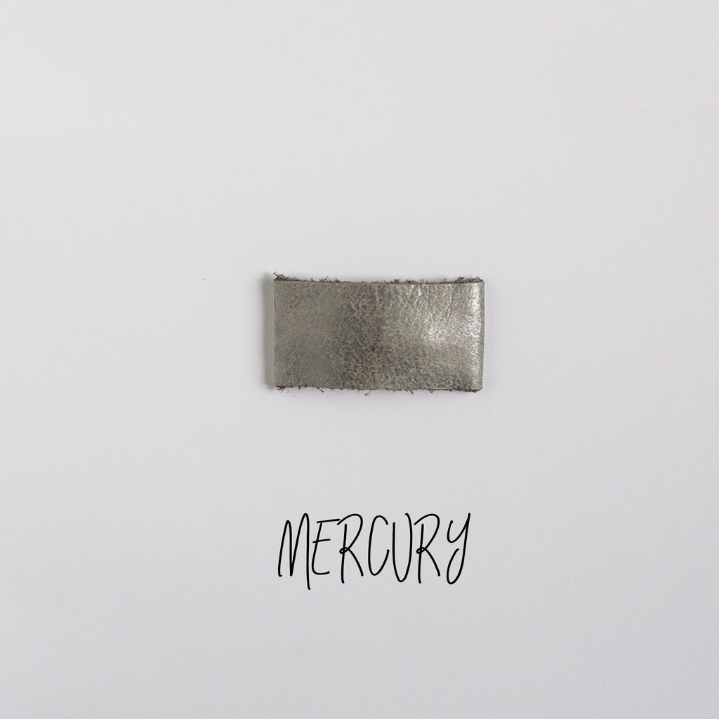 Mercury Leather Snap Clip