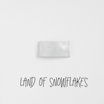 Land of Snowflakes Leather Snap Clip
