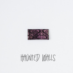 Haunted Walls Leather Snap Clip