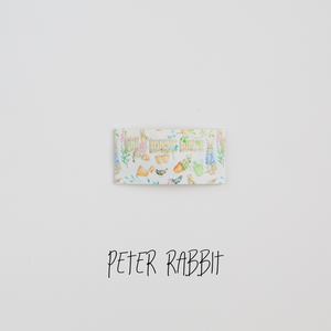 Peter Rabbit Faux Leather Printed Snap Clip