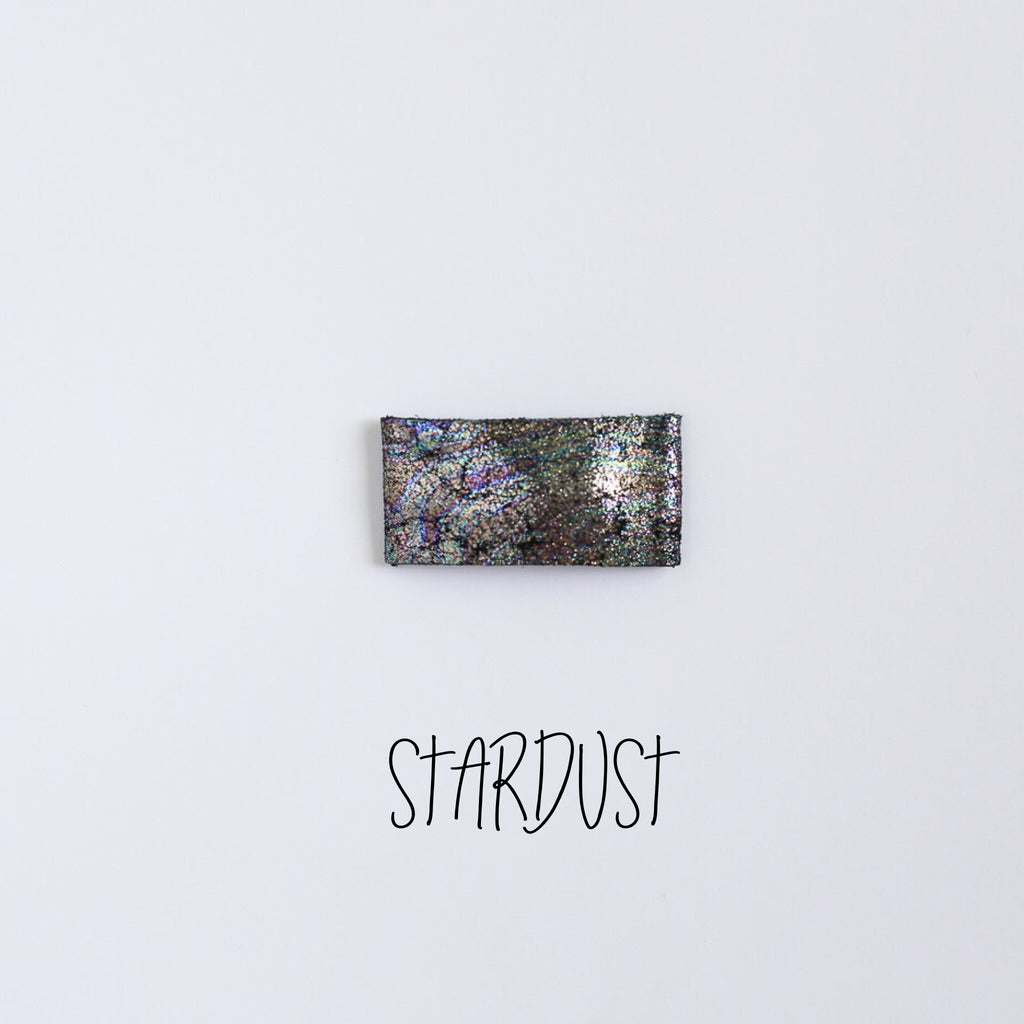 Stardust Leather Snap Clip