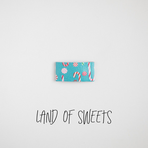Land of Sweets Leather Snap Clip