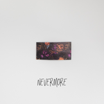 Nevermore Faux Leather Printed Snap Clip