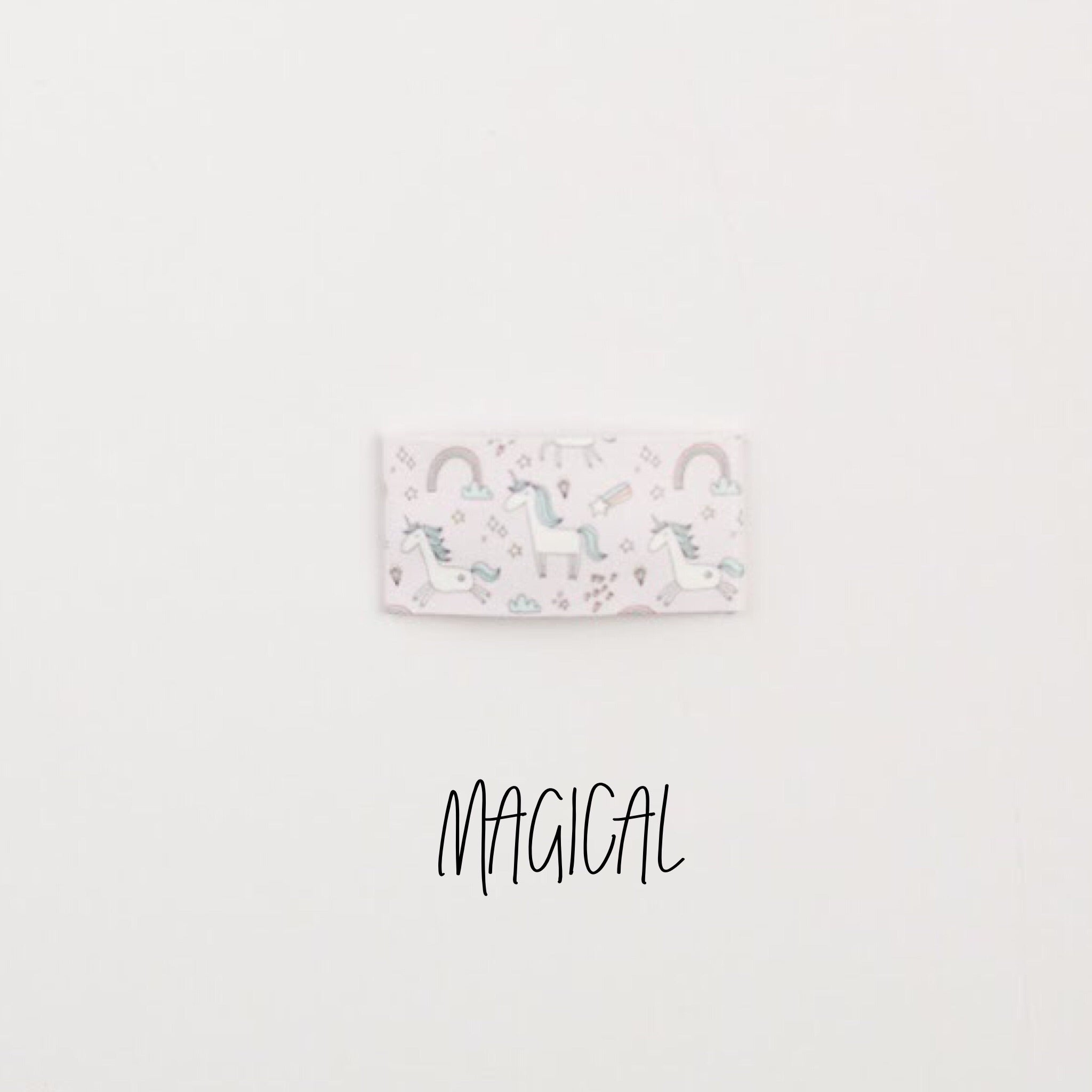 Magical Faux Leather Snap Clip
