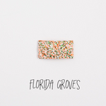 Florida Groves Glitter Snap Clip