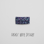 Cackle with Delight Glitter Snap Clip