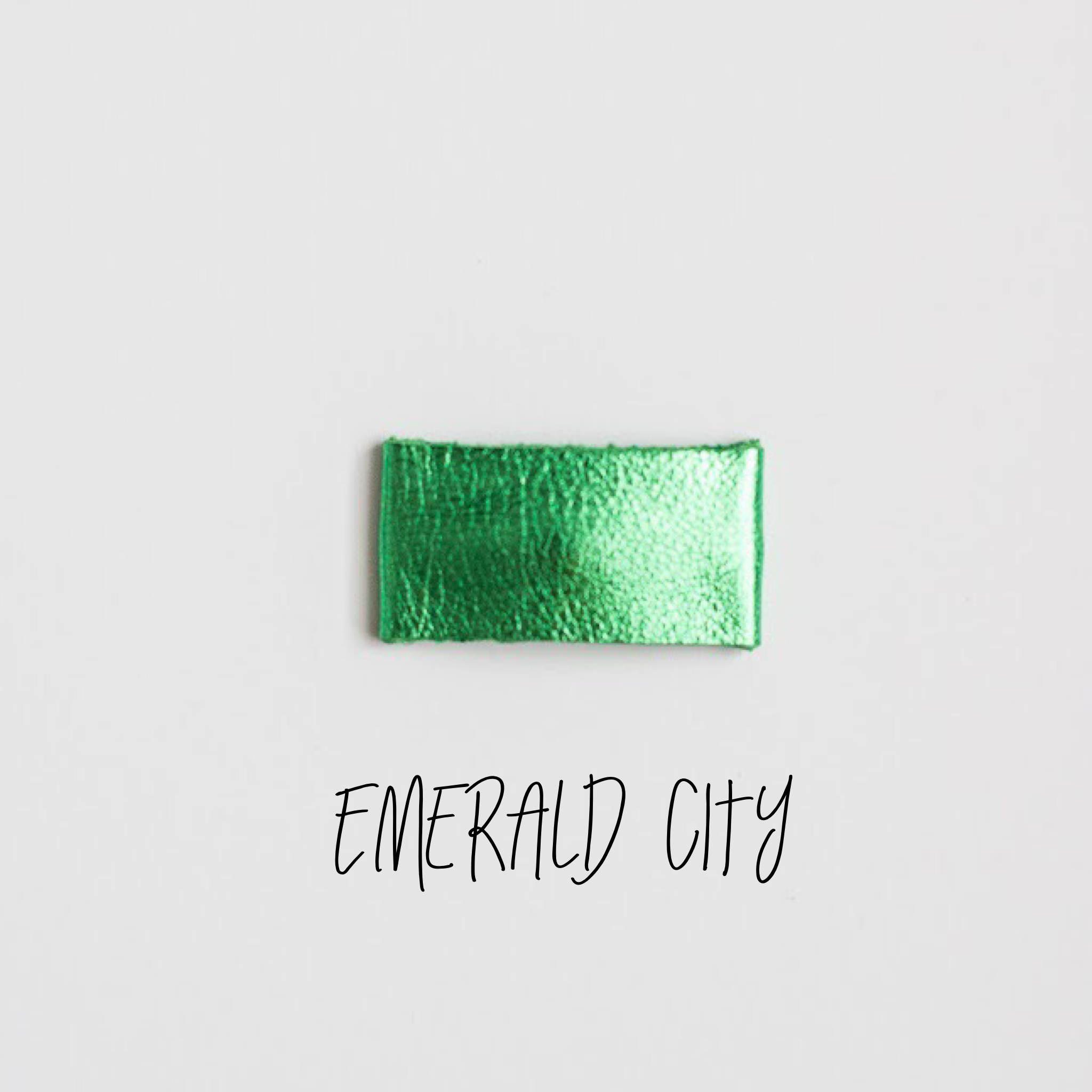 Emerald City Leather Snap Clip