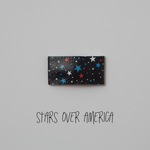 Stars Over America Leather Snap Clip