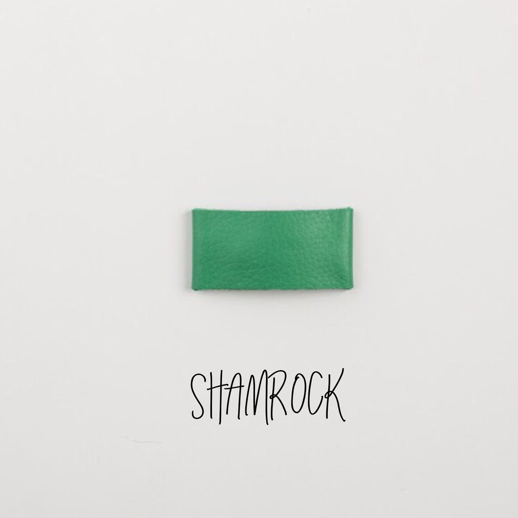Shamrock Leather Snap Clip