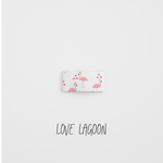 Love Lagoon Leather Snap Clip