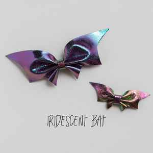Bat Leather Bow | More Color Options
