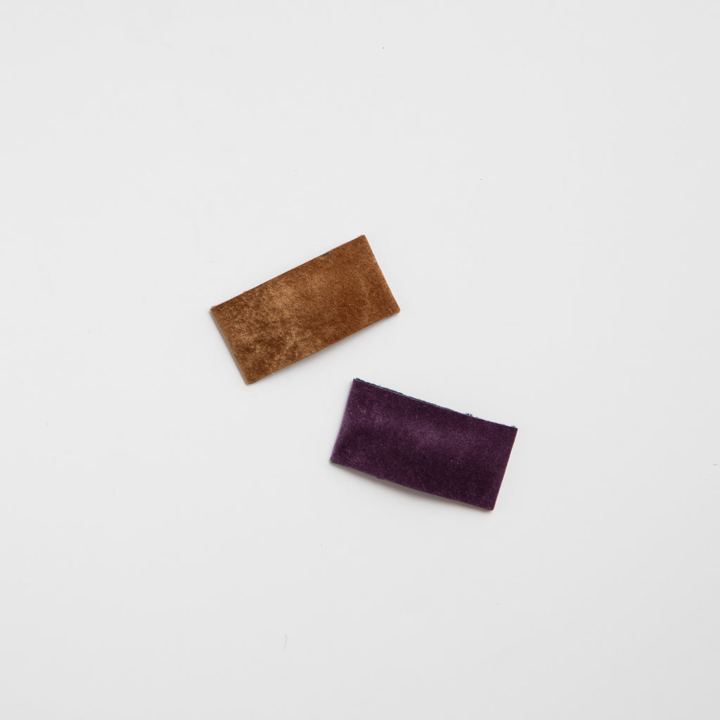 Velour Snap Clips (multiple colors available)