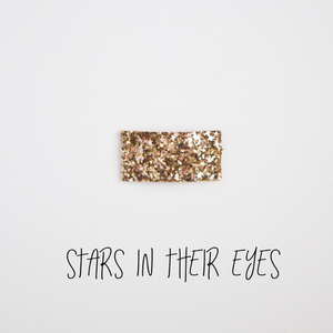 Stars In Their Eyes Glitter Snap Clip