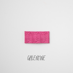 Galentine Leather Snap Clip