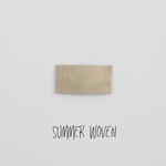 Summer Woven Leather Snap Clip