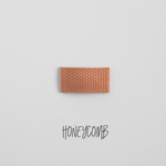 Honeycomb Leather Snap Clip