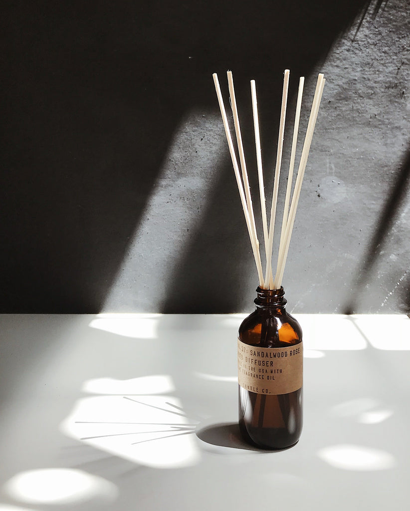 P.F. Candle Co Diffuser - Sandalwood Rose, duftpinde,