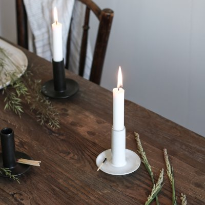Tell me more Lou candleholder - Hvid, lysestage,