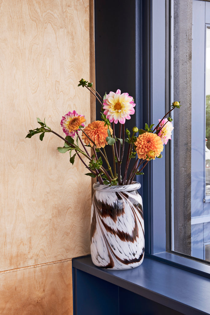 HAY Splash vase roll neck stor