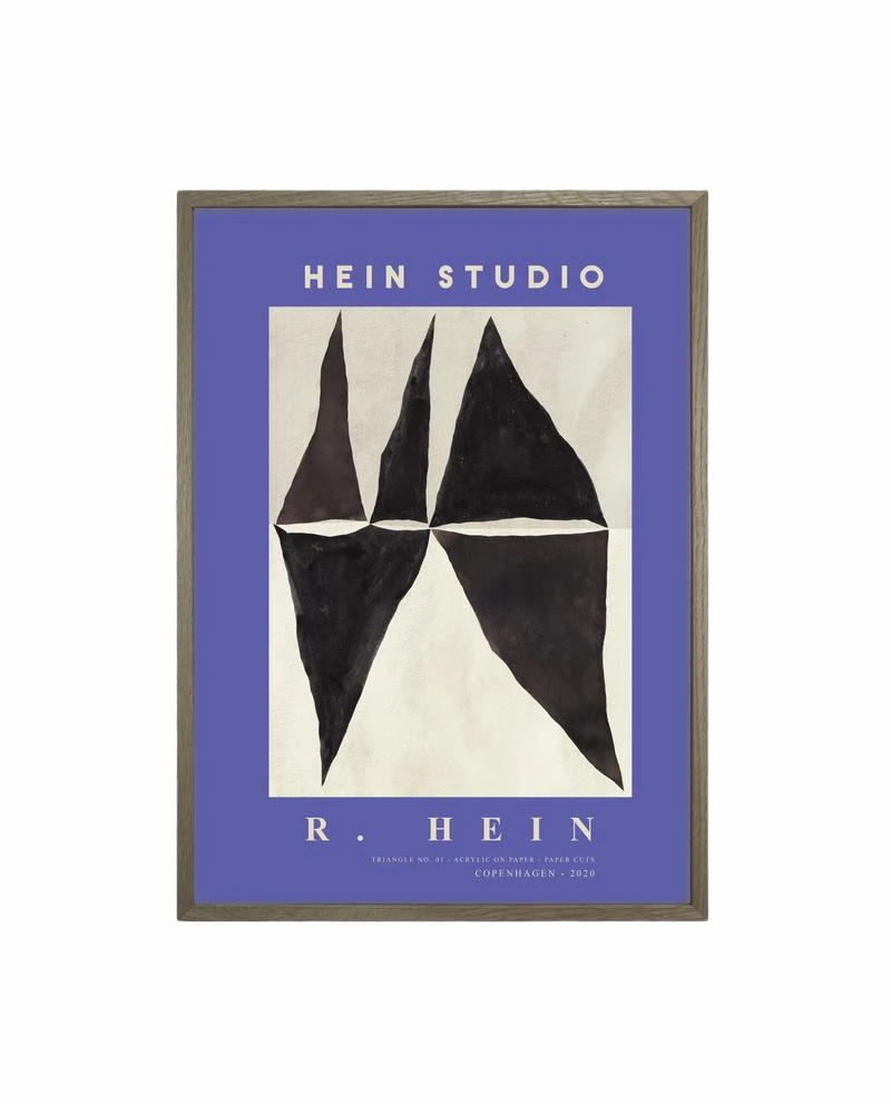 Hein Studio plakat Triangle no. 03