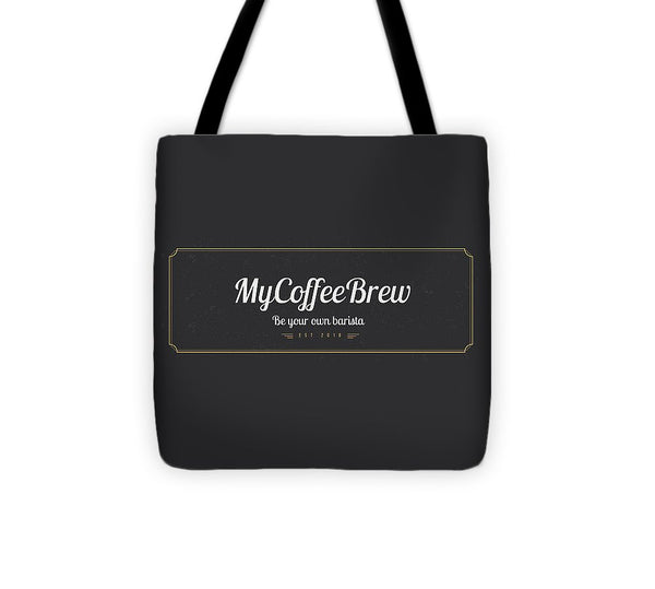 MyCoffeeBrew - Tote Bag - MyCoffeeBrew