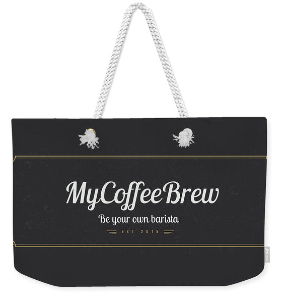 MyCoffeeBrew - Weekender Tote Bag - MyCoffeeBrew