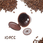 10pcs Reusable Dolce Gusto Coffee Capsule - MyCoffeeBrew