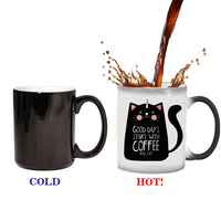 Cat Pattern Coffee Mug - MyCoffeeBrew