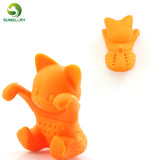 Cute Silicone Cat Tea Infuser - MyCoffeeBrew