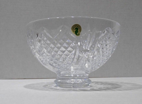 "Waterford Crystal 8"" Hand Cut Centerpiece Bowl Ireland with Box - US Cellular"