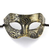 Reproduction Vintage Retro Mask Greco-Roman Gladiator Masquerade Mask