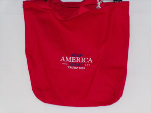 Keep America Great TRUMP 2020 Embroidered Bag