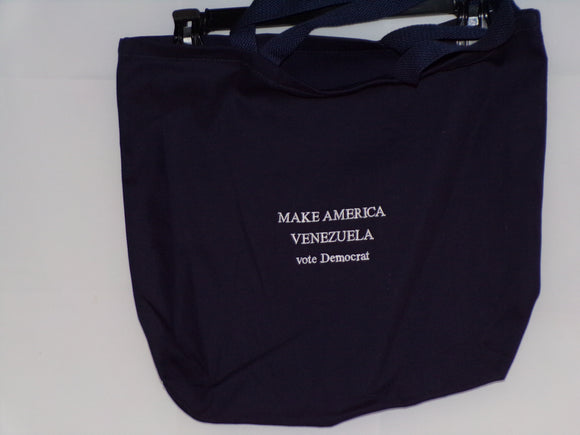 Make America Venezuela Embroidered Bag