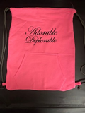Adorable Deplorable Embroidered Bag
