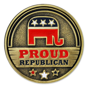 Proud Republican Pin