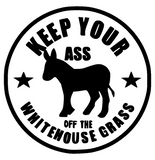 Keep Your Ass off the Grass Tee