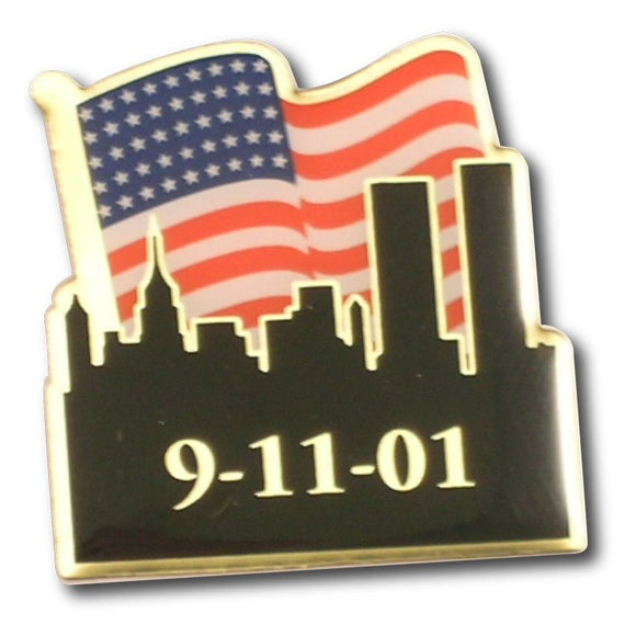 September 11 Remembrance Pins
