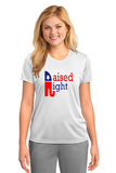 Red and Blue Raised Right Tee
