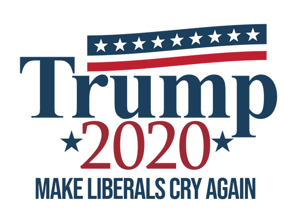 Trump 2020 - Make Liberals Cry Again Stars Tee
