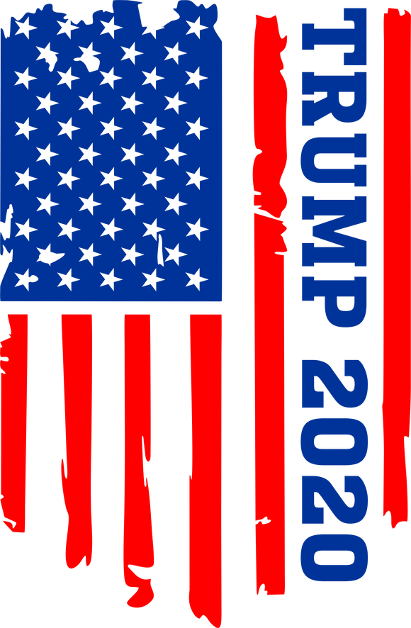 Trump 2020 Vertical Flag Tee